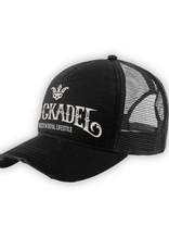 Cap Trucker Rough Black / Grey