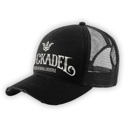 Cap Trucker Rough Black / Grey
