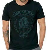 Shirt Royal Punks Black / Deep See BlueGreen