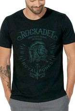 Shirt Royal Punks Black / Deep See BlueGreen