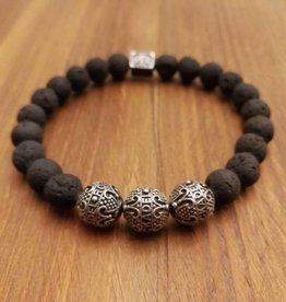 "Armband ""Blackened Raw III"""