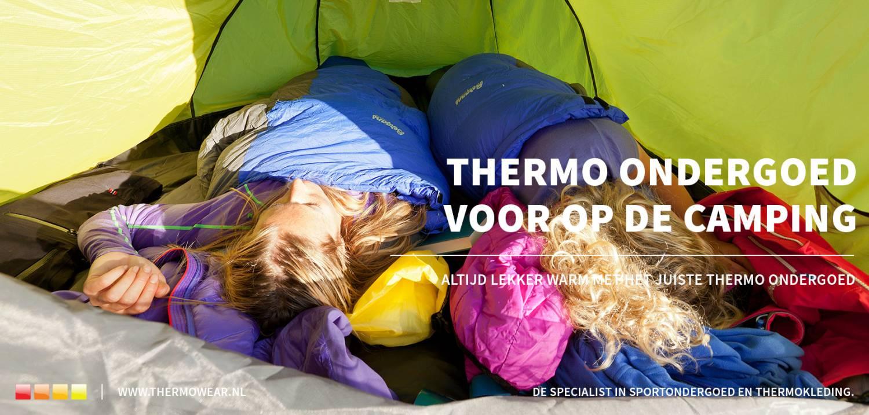Thermo ondergoed op de camping