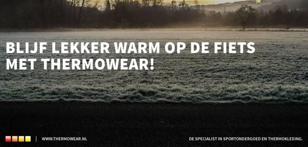 Blijf lekker warm op de fiets met Thermowear!