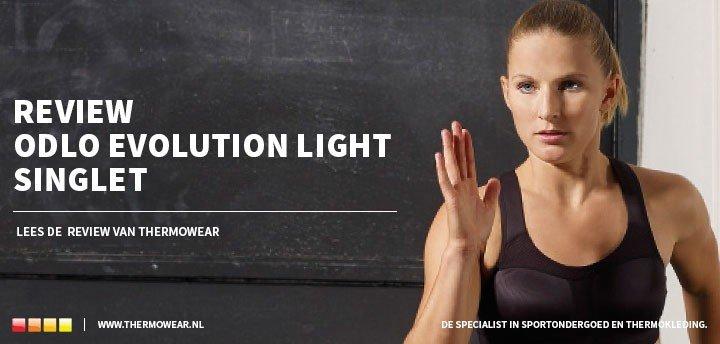 Review Odlo Evolution Light Singlet