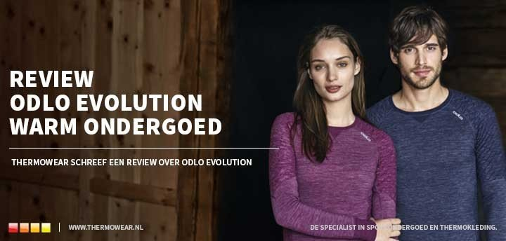 Review: Odlo Evolution Warm thermo ondergoed voor wintersporten