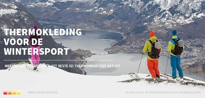 Top 5: thermokleding voor de wintersport
