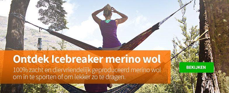 Merino wol thermo ondergoed van Icebreaker voor het najaar