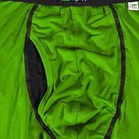 Close up van de gulp van een 2UNDR boxershort.