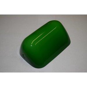 Steinhauer Glas bankiers lamp groen of wit