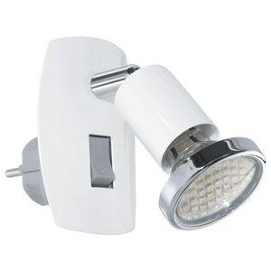 Eglo Stopcontact lampje  Mini 4 Wit
