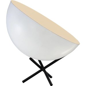 Master Light Tafellamp Larino 40 cm Wit
