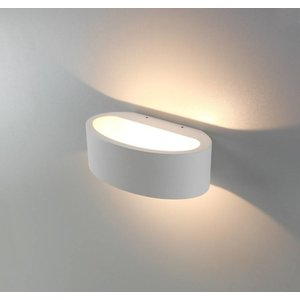 Licht & Wonen Wandlamp Sharp Wit met Led
