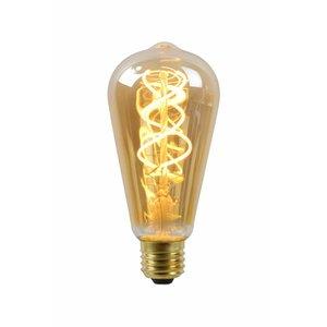 Lucide Filament Led lamp Amber  Glas