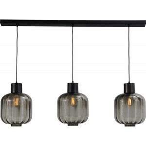 Master Light Hanglamp Lett lll 3 lichts  glas 28 cm