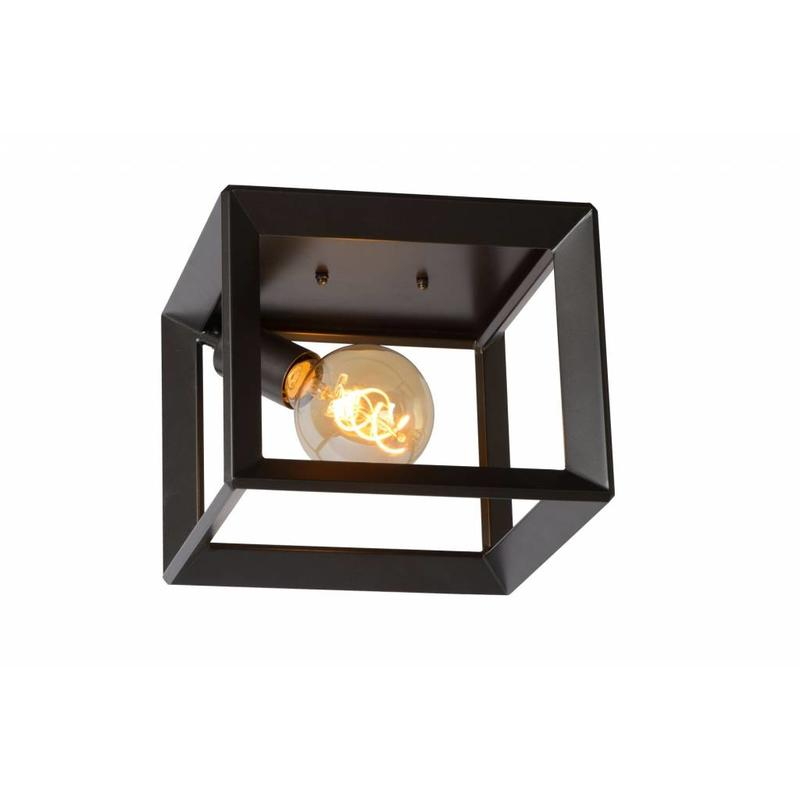 Stoere plafondlamp thor vierkant light collection for Stoere plafondlamp