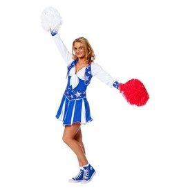 Wilbers Cheerleader luxe blauw