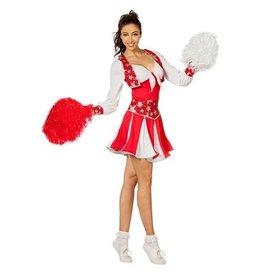 Wilbers Cheerleader luxe rood