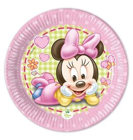 Bordjes Baby Minnie (Ø20cm, 8st)
