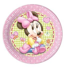 Bordjes Baby Minnie (Ø23cm, 8st)