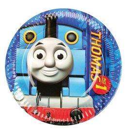 Bordjes Thomas de trein (Ø23cm,8 stuks)