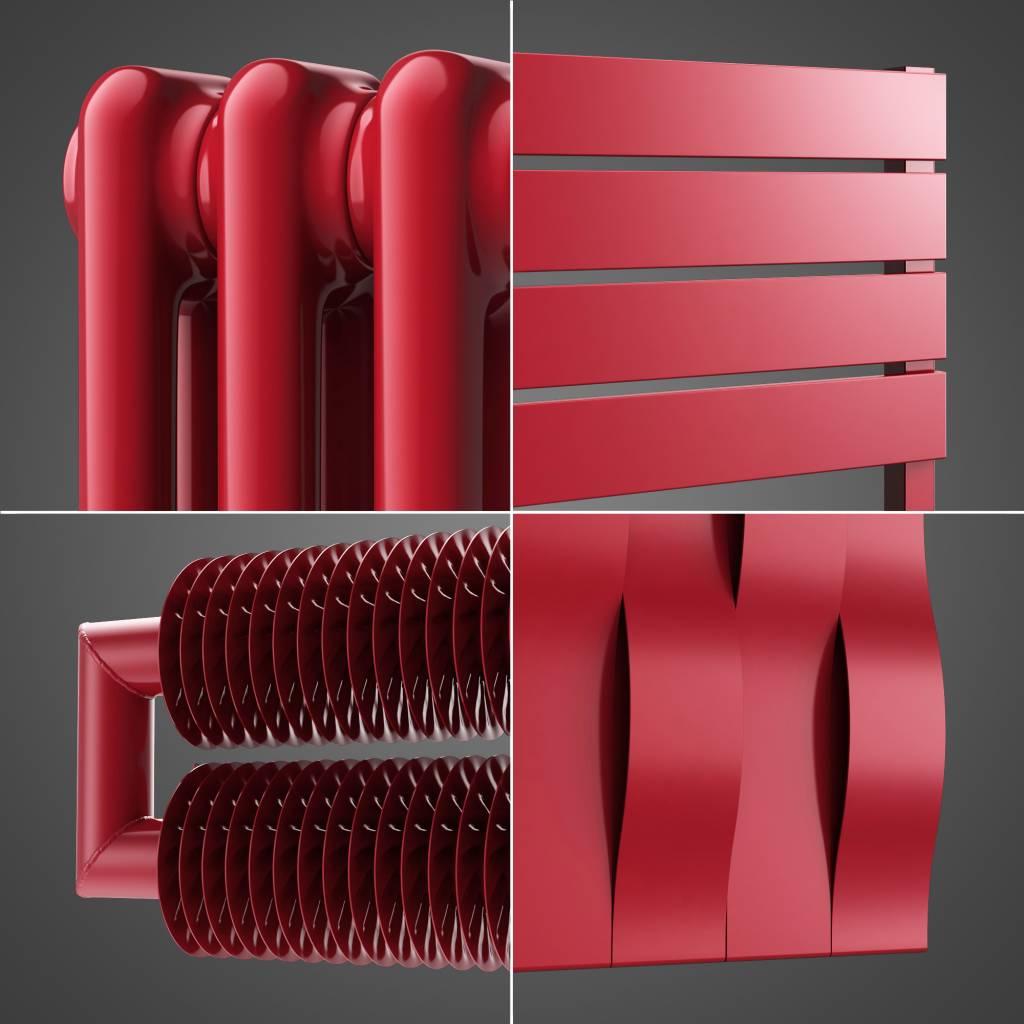 designheizk rper ral farbe rubinrot ral 3003 hothot heizk rper. Black Bedroom Furniture Sets. Home Design Ideas