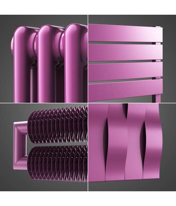 Farbige Heizkörper farbige heizkörper bunte heizkörper signalviolett farbe hothot