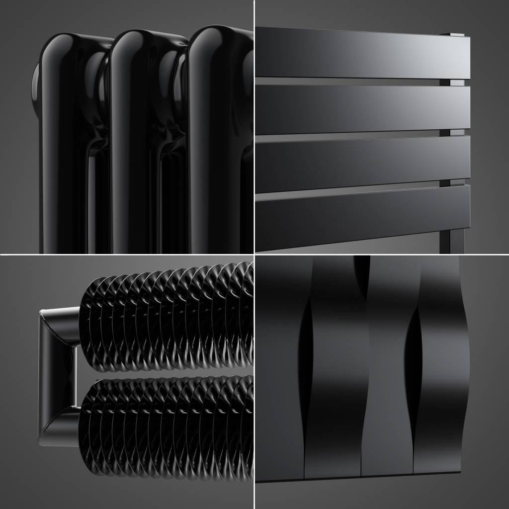 heizk rper in der tiefschwarzen farbe hothot heizk rper. Black Bedroom Furniture Sets. Home Design Ideas