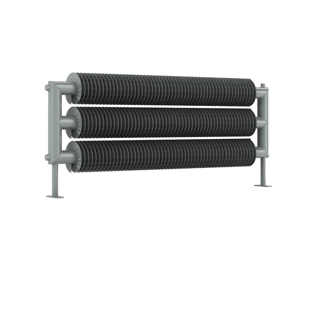 Dreireihiger horizontaler Spiral-Heizkörper | RETRO REVOLUTION FT ...