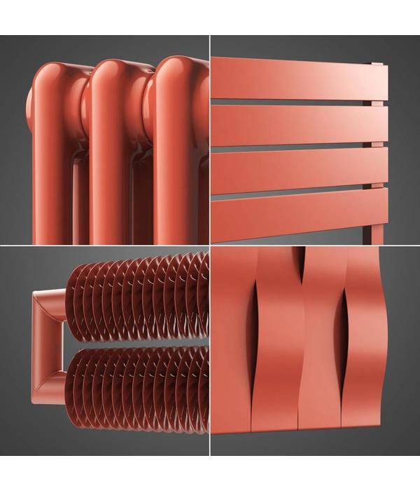 designer coloured heating salmon pink radiators ral 3022 hothot