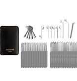 74-delige Slim Line Lockpick set van Southord