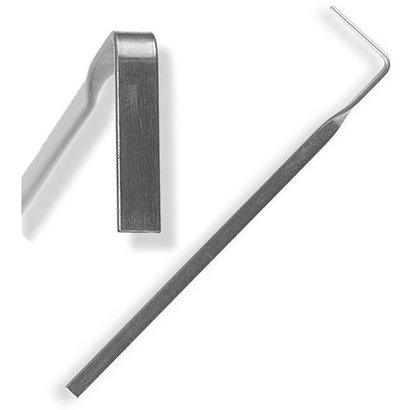 Tension Wrench gedraaid
