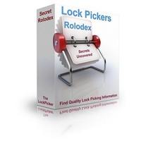 Secret Lockpick Rolodex