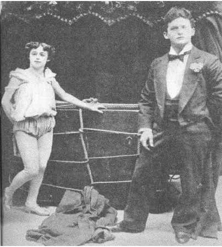 Houdini en zijn assistente