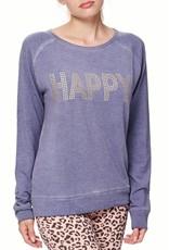 """Bioshirt-Company Rundhals Sweatshirt  """"Happy"""""""