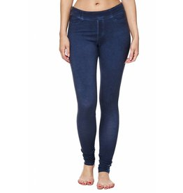 "Bioshirt-Company Leggings lang ""Denim-Look"""