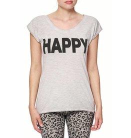 "Bioshirt-Company T-Shirt ""Happy"" print"