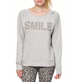 """Bioshirt-Company Rundhals Sweatshirt """"Smile"""""""
