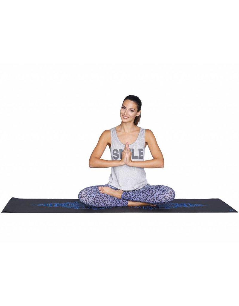 Bioshirt-Company Yogamatte mit Buddha print blau