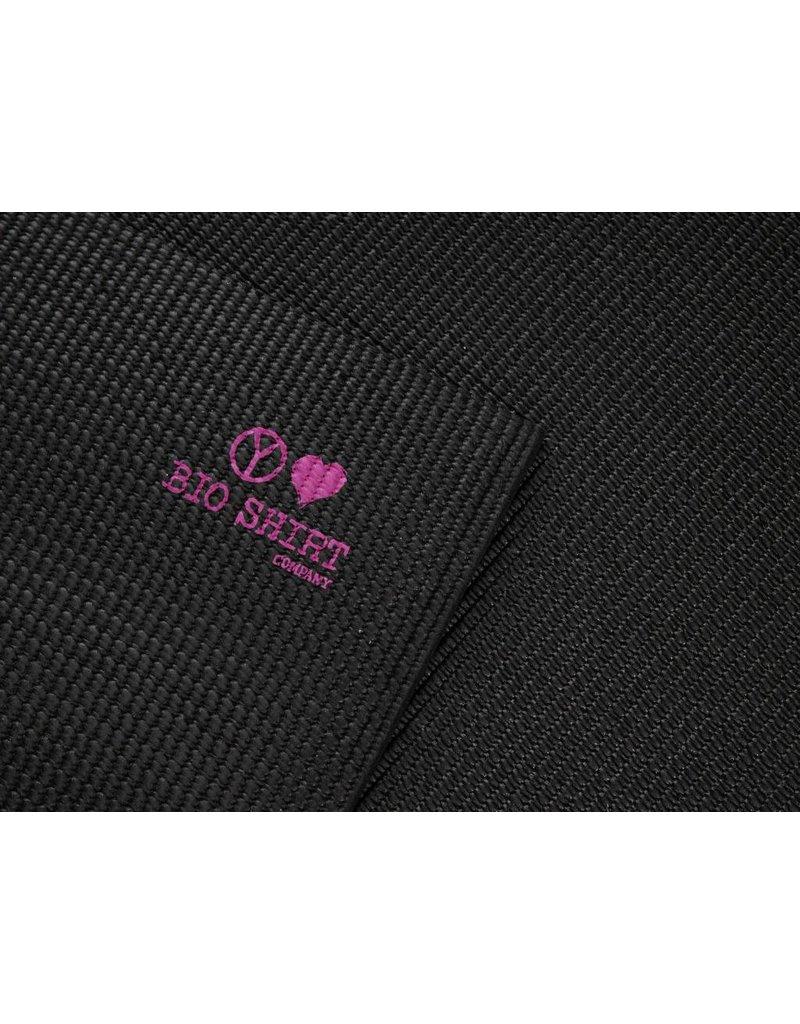 Bioshirt-Company Yogamatte mit Buddha print pink