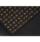 Bioshirt-Company Yogamatte mit allover print gold