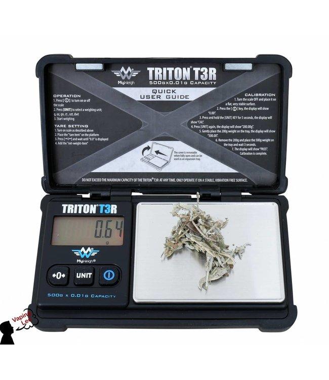 Solide  Digitalwaage vom Myweigh :Triton T3R 500