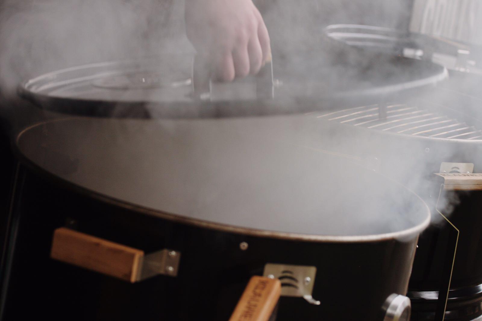 KLAUWE BBQ Experience een drum en rook