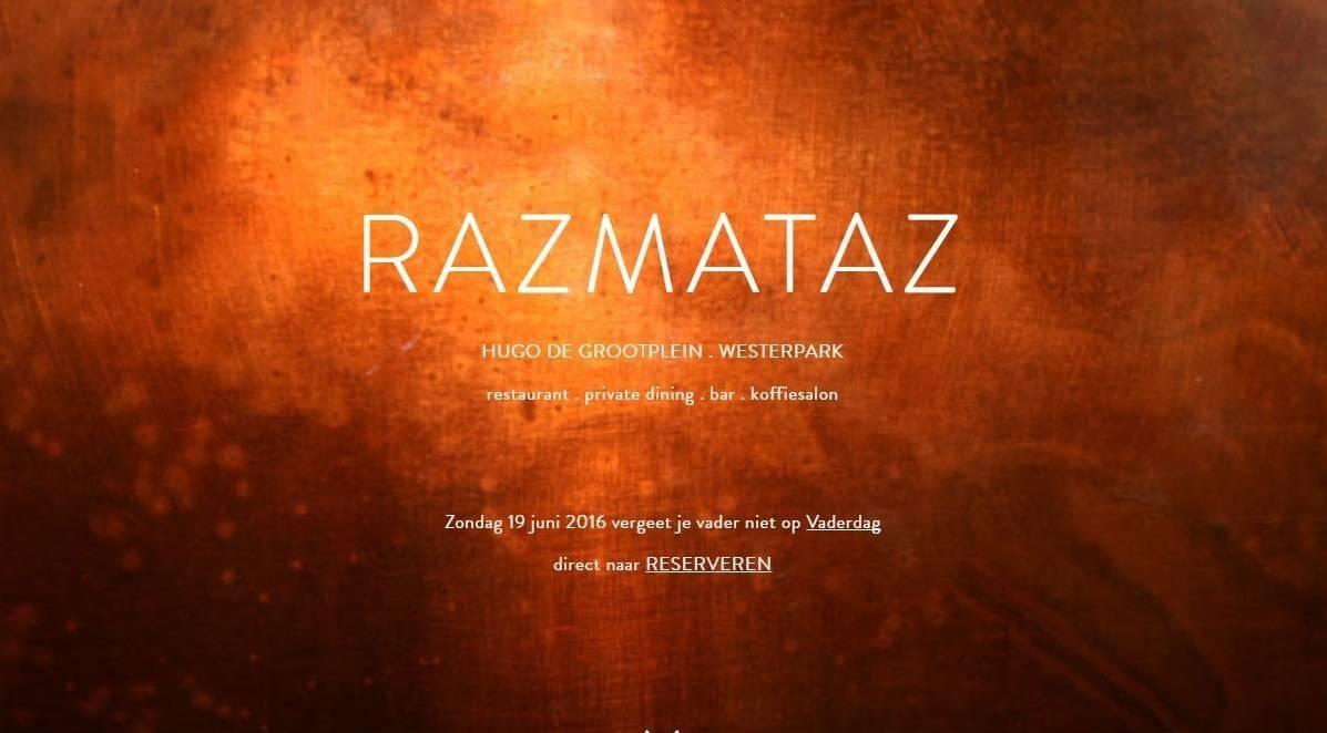 KLAUWE Live op Gamba Gang Razmataz Amsterdam
