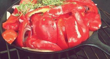 Paprika Tomatensoep van je BBQ! Ook dat kan met KLAUWE!