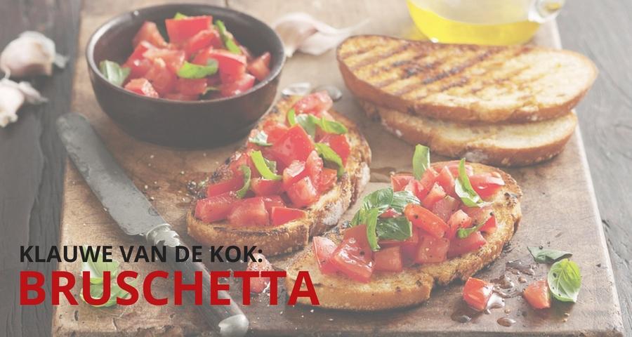 Recept Bruschetta met tomaten en basilicum