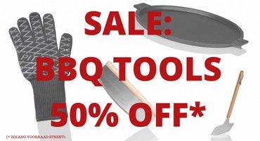 SALE: BBQ Tools minus 50%!