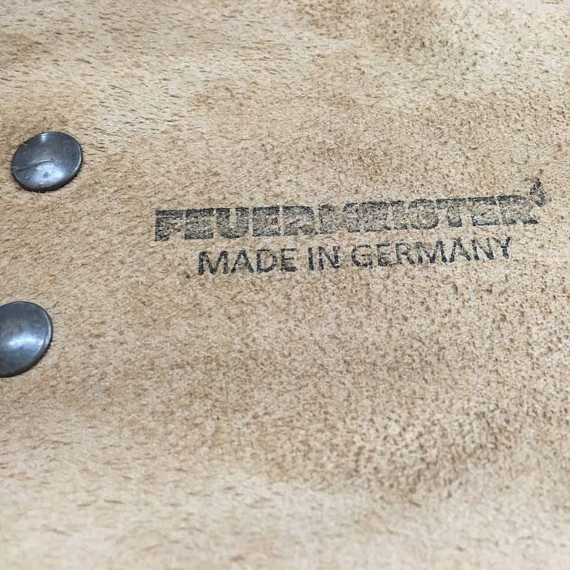 Feuermeister® Premium Leder Schürze Cognac