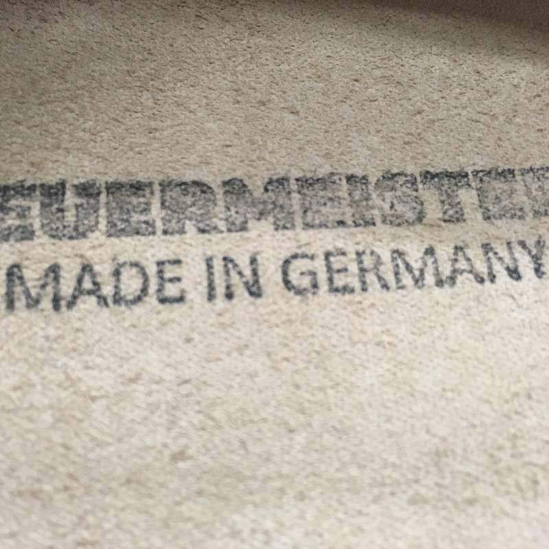 Feuermeister® Premium Leren Schort Antraciet