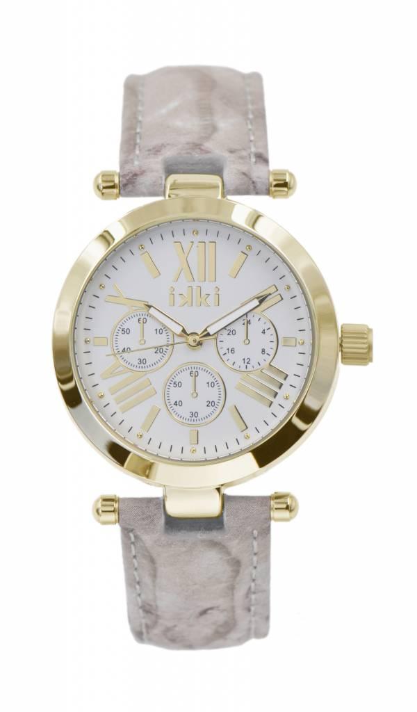 IKKI Venus snake gold horloge VE08