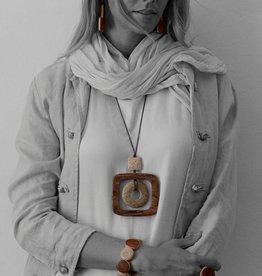 Halsketting Atacama natura collectie